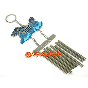 Flying Dragon Eight Rod Feng Shui Windchime