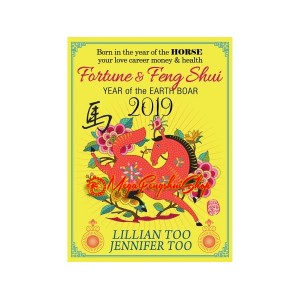 Fortune and Feng Shui 2019 for Horse