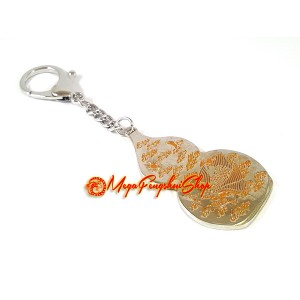 Garuda Wu Lou Keychain for Health Luck