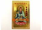 Goddess of Mercy Guan Yin Card (Metal)
