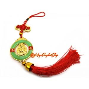 Goddess of Mercy Kwan Yin Ping An Kou Tassel