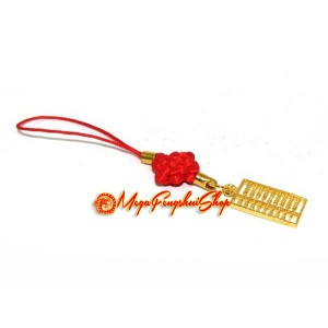 Golden Abacus Mobile Hanging