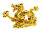 Golden Dragon for Career Success and Good Fortune