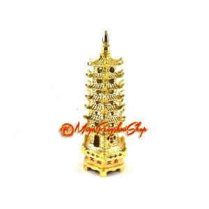 Golden Feng Shui 7-level Pagoda