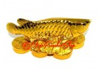 Golden Feng Shui Arowana for Wealth Luck