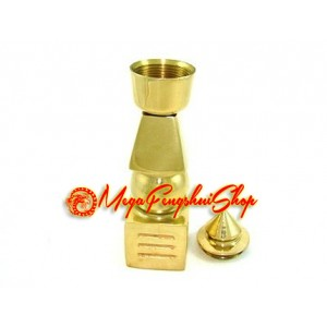 Golden Five Element Pagoda (6 inches)