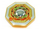 Golden Feng Shui Bagua with Mirror