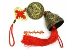 Good Fortune Dragon Bell Feng Shui Tassel