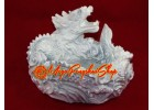 Good Fortune Dragon Tray (White)