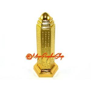 Heart Sutra Feng Shui Pillar - 6 inches