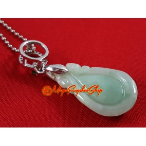 Jade Rain Drop Pendant (High Grade)