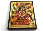 King Gesar Plaque for Success Luck
