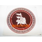 King Gesar Window Stickers (2 pieces)