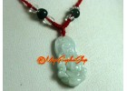 Kuanyin Jade Pendant with Necklace (adjustable)