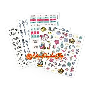 Lillian Too's Stickers for Health, Wealth & Happiness
