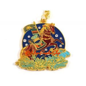 Magical Wind Horse Feng Shui Keychain