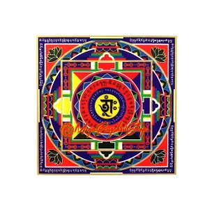 Mandala Wealth Stickers (2x)