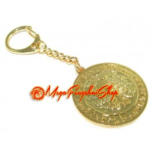Medallion for Success and Wishfulfilling Fengshui Keychain