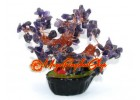 Mini Bonsai Amethyst Crystal Fengshui Tree