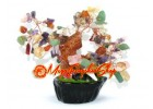 Mini Mixed Crystal Feng Shui Gem Tree