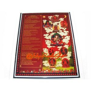 Nine Deities Invocation Feng Shui Plaque