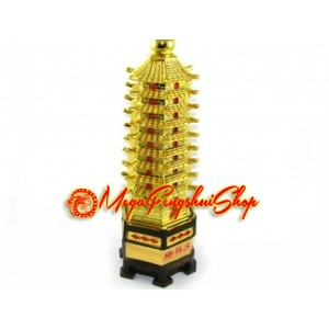 Nine Level Wen Chang Pagoda (L)