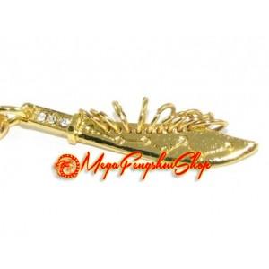 Nine Ring Sword Keychain