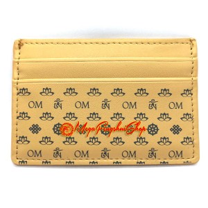 Om Card Holder - Beige