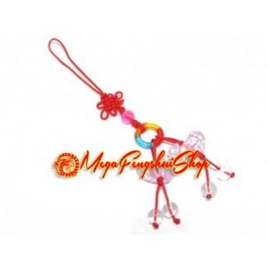 Pair of Mandarin Ducks Feng Shui Mobile Hanging