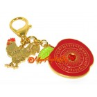 Peace and Anti Conflict Feng Shui Keychain