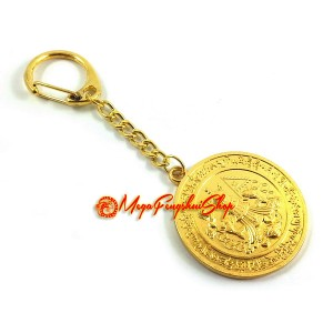 Producing Victory Medallion Feng Shui Keychain