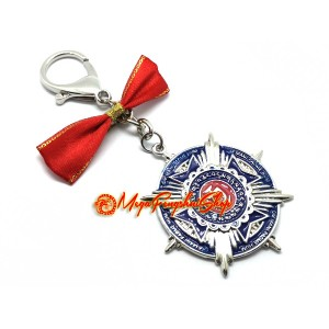 Prosperity Victory Amulet Feng Shui Keychain