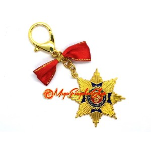 Protection of Wealth and Good Name Amulet Keychain