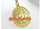 Quick Fulfillment Medallion Feng Shui Keychain