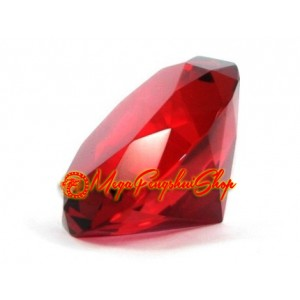 Wish Granting Jewel (Red) for Love and Recognition Luck 80mm