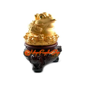 Rotating Feng Shui Money Frog to Attract Wealth Luck