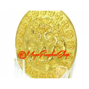 Six Heaven Gold Coin Plaque