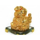 Supreme Wealth Generating Golden Pi Yao for 100 Kinds of Luck