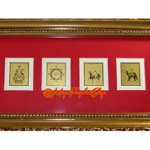 The 7 Royal Emblems Feng Shui Plaque