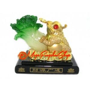 Three Legged Toad with Pak Choy Air Freshener