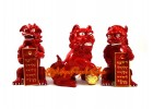 Three Lions Feng Shui Remedy for Three Killings