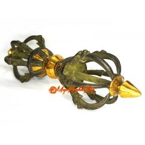 Tibetan Brass Dorje Vajra (L)