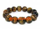 Tiger Eye Elastic Crystal Bracelet (12/14mm)