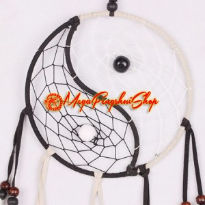 Traditional Feng Shui Yin Yang Dream Catcher