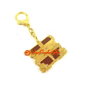 Treasure Box Feng Shui Keychain