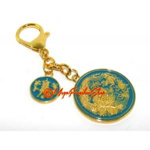 Victory-Enhancing Talisman Feng Shui Keychain