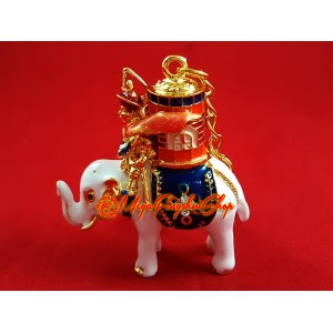 Victory Power Elephant with Magic Barrel Keychain