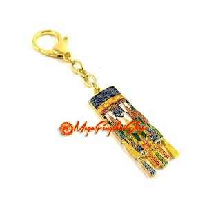 Winning Luck Victory Banner Feng Shui Keychain