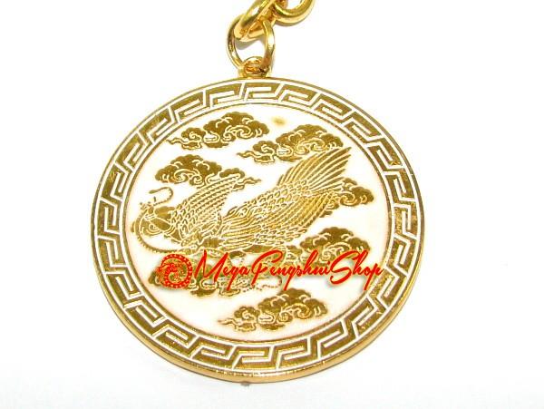 Garuda Good Health Feng Shui Keychain