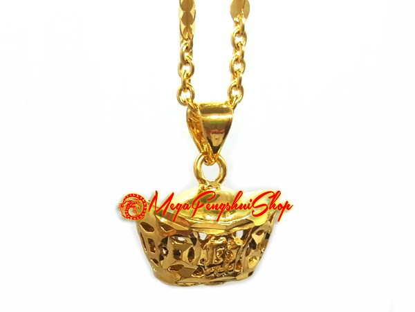 Fortune prosperity asian necklace did not